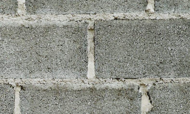 Mur en parpaing