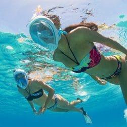 Snorkeling avec Easybreath Decathlon