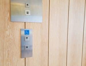 Boutons d'ascenseur