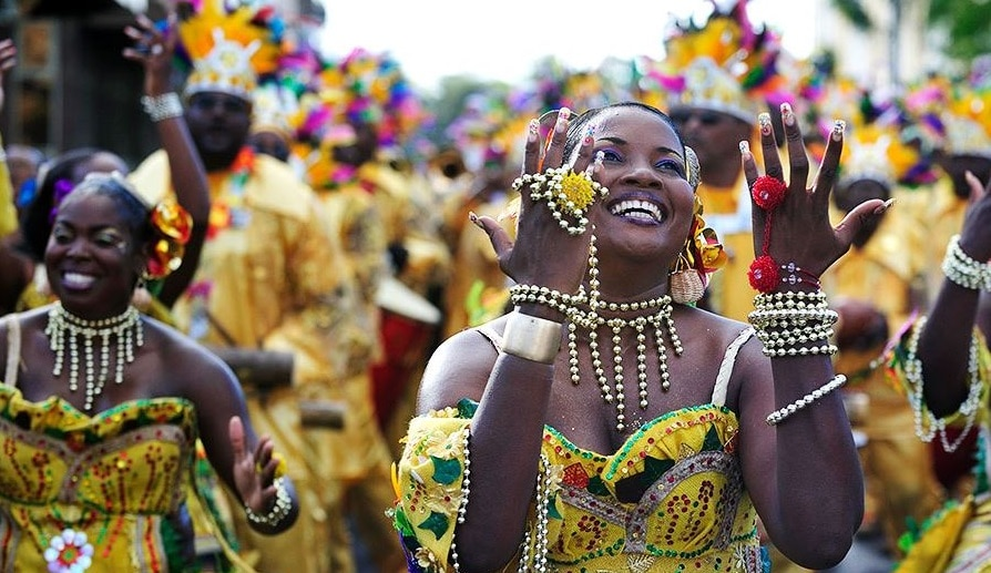 Martiniquaises qui dansent