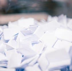 Papiers de tombola