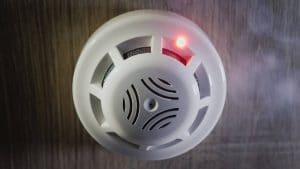Un détecteur de fumée