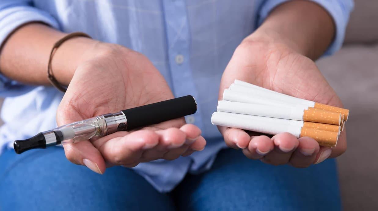 cigarette électronique fumée