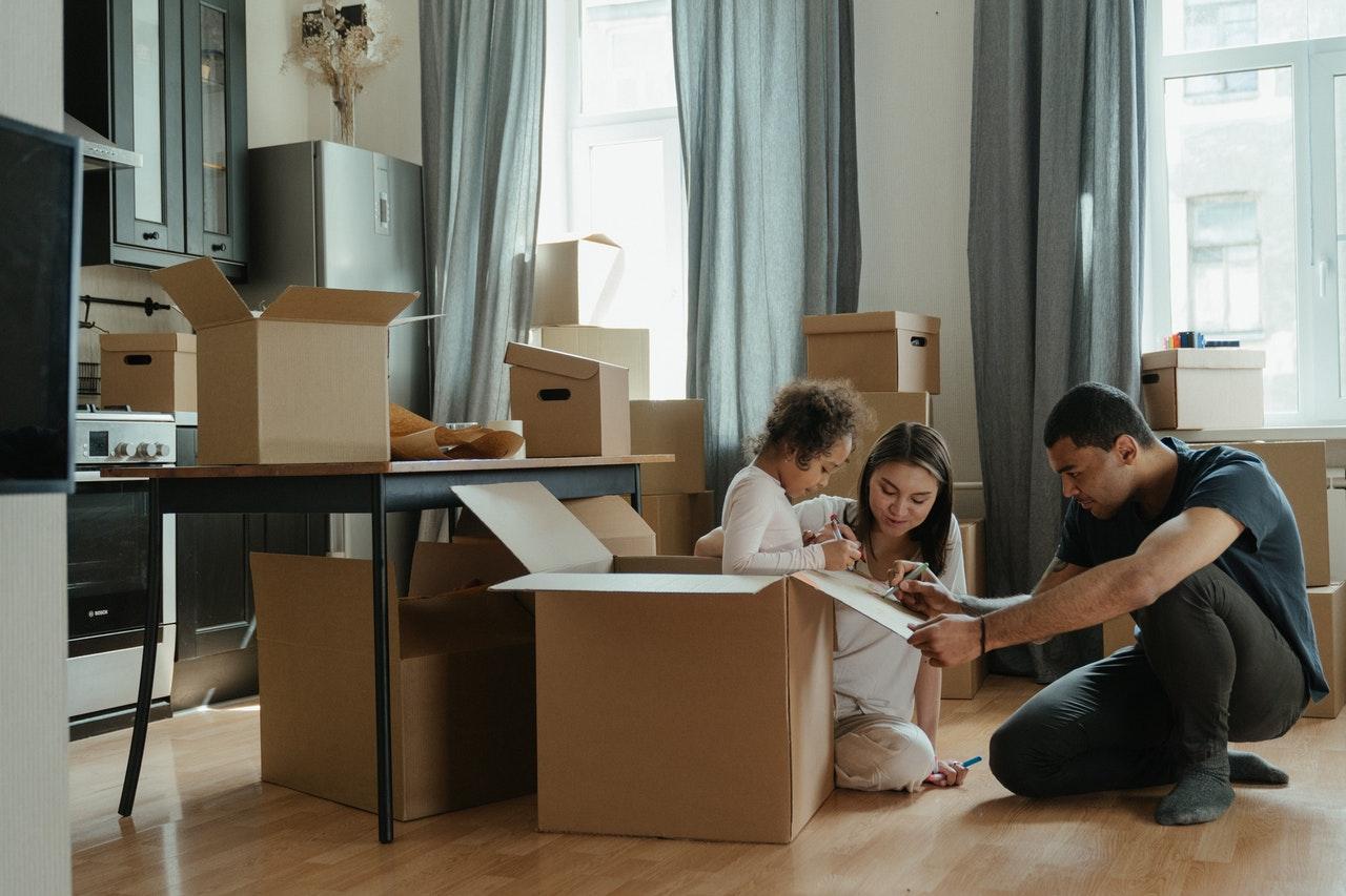 Déménagement couple appartement