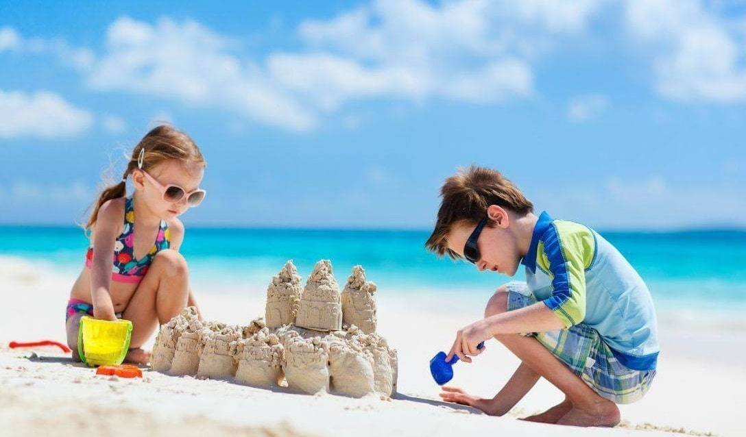 activité bord de mer enfants