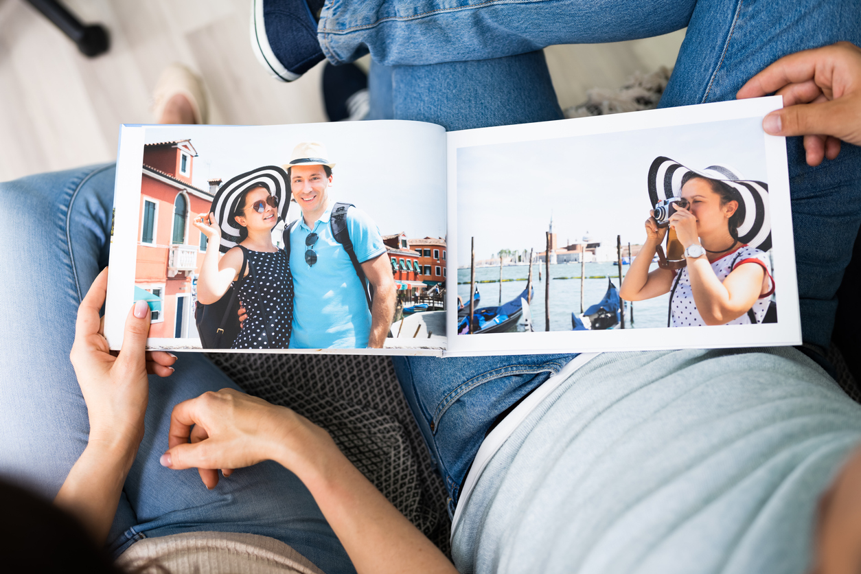 un livre photos souvenirs